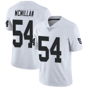Youth Nike Las Vegas Raiders Raekwon McMillan White Vapor Untouchable Jersey - Limited