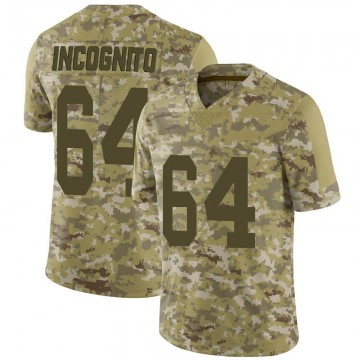 Youth Nike Las Vegas Raiders Richie Incognito Camo 2018 Salute to Service Jersey - Limited