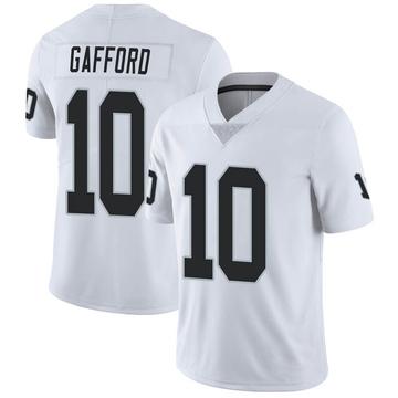 Youth Nike Las Vegas Raiders Rico Gafford White Vapor Untouchable Jersey - Limited