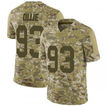 Youth Nike Las Vegas Raiders Ronald Ollie Camo 2018 Salute to Service Jersey - Limited