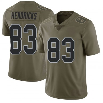 Youth Nike Las Vegas Raiders Ted Hendricks Green 2017 Salute to Service Jersey - Limited