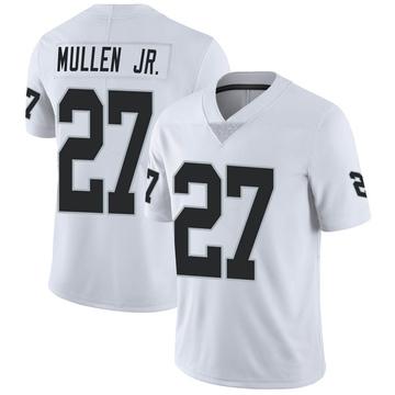 Youth Nike Las Vegas Raiders Trayvon Mullen White Vapor Untouchable Jersey - Limited