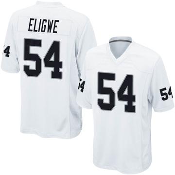 Youth Nike Las Vegas Raiders Ukeme Eligwe White Jersey - Game