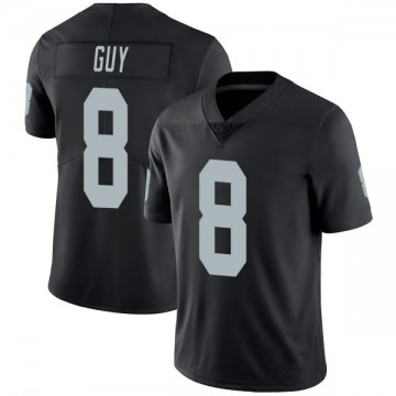 Youth Nike Las Vegas Raiders Wilson Ray Guy Black Team Color Vapor Untouchable Jersey - Limited