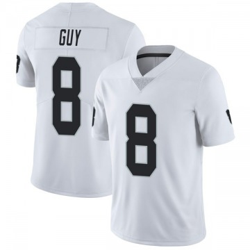 Youth Nike Las Vegas Raiders Wilson Ray Guy White Vapor Untouchable Jersey - Limited