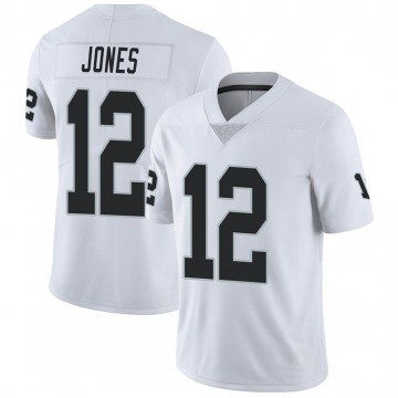 Youth Nike Las Vegas Raiders Zay Jones White Vapor Untouchable Jersey - Limited
